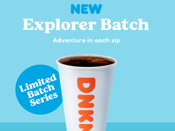 The Story Behind Dunkin's Explorer Batch Coffee