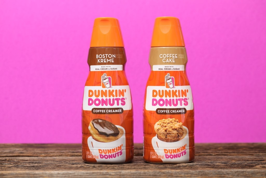 Enjoy Two New Creamers in Your Dunkin' Coffee at Home