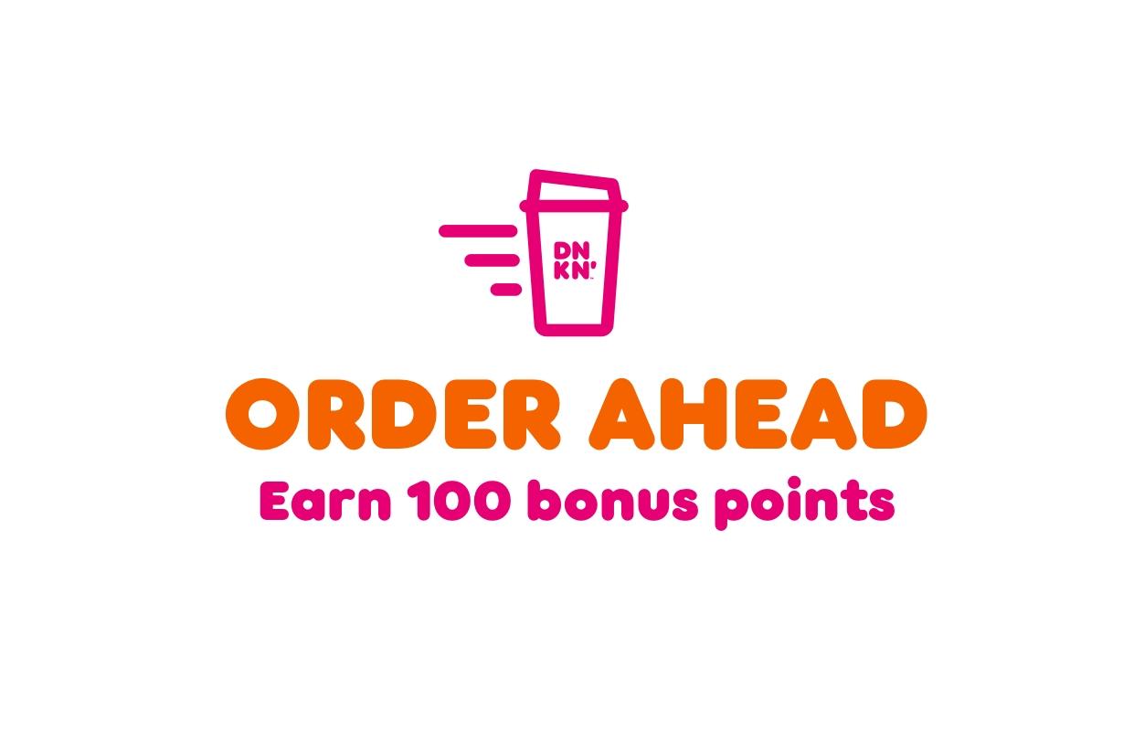 Dunkin' Rewards DD Perks® Members Who Order Ahead