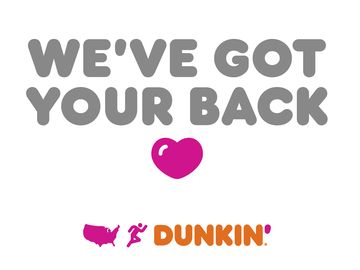 Keeping America Runnin': Family-Owned Dunkin' Restaurants in Massachusetts Donate Coffee and Debut Signs of Encouragement