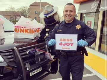 Keeping America Runnin': San Diego Franchisee Offers Free Coffee to First Responders and Health Professionals