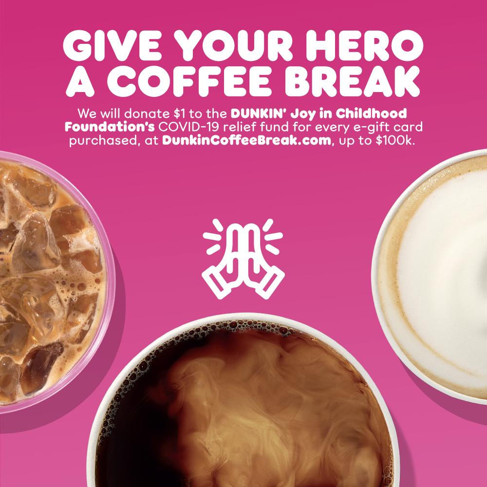 Dunkin' Coffee Break