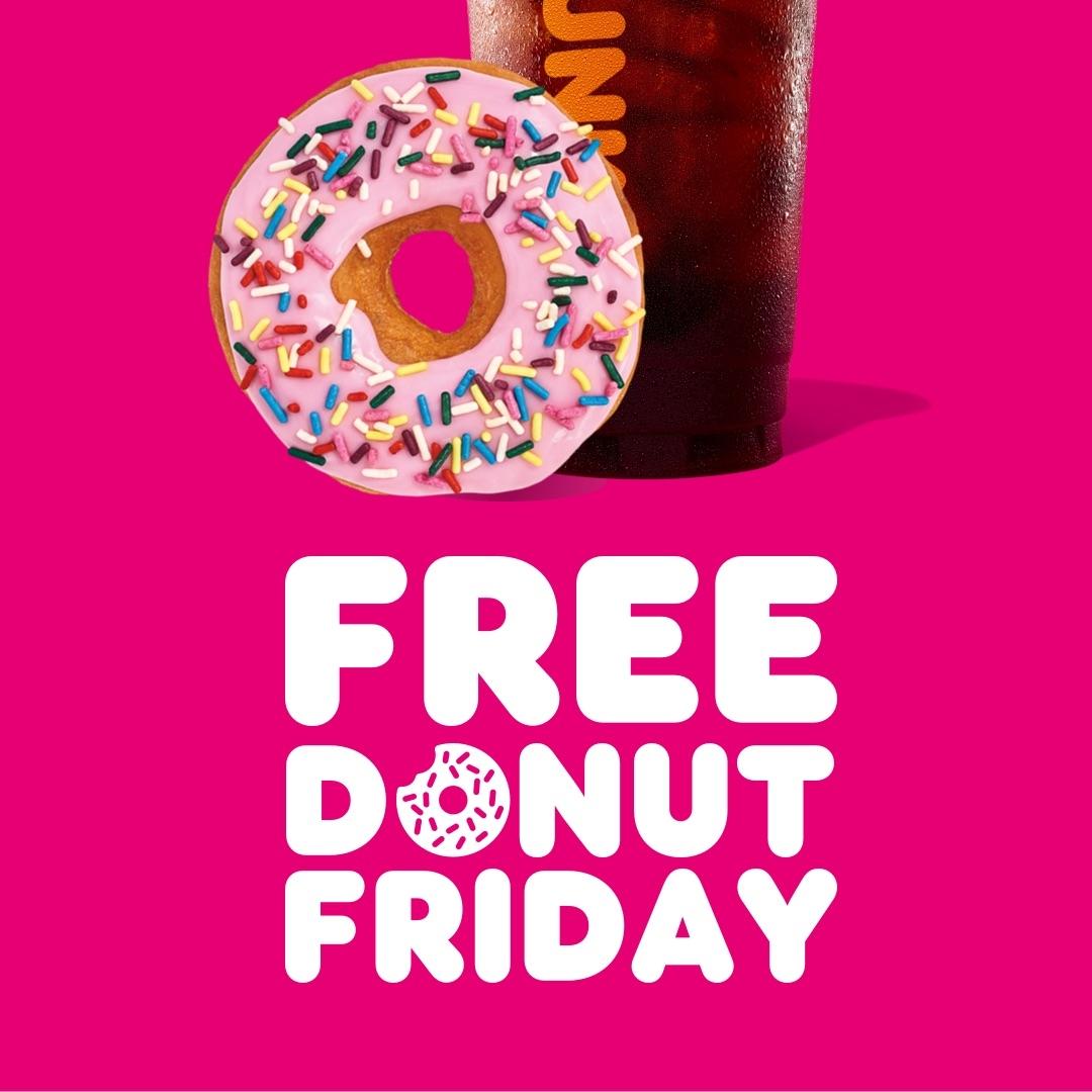 Free Donut Fridays