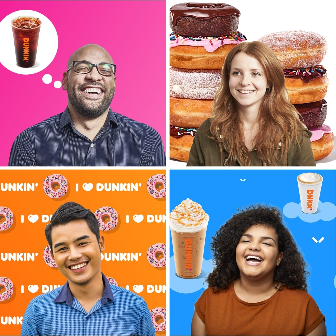 10 Dunkin' Backgrounds for Your Virtual Coffee Break