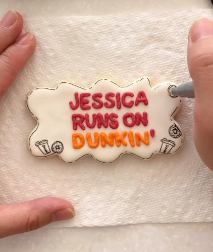 Jessica Runs on Dunkin'