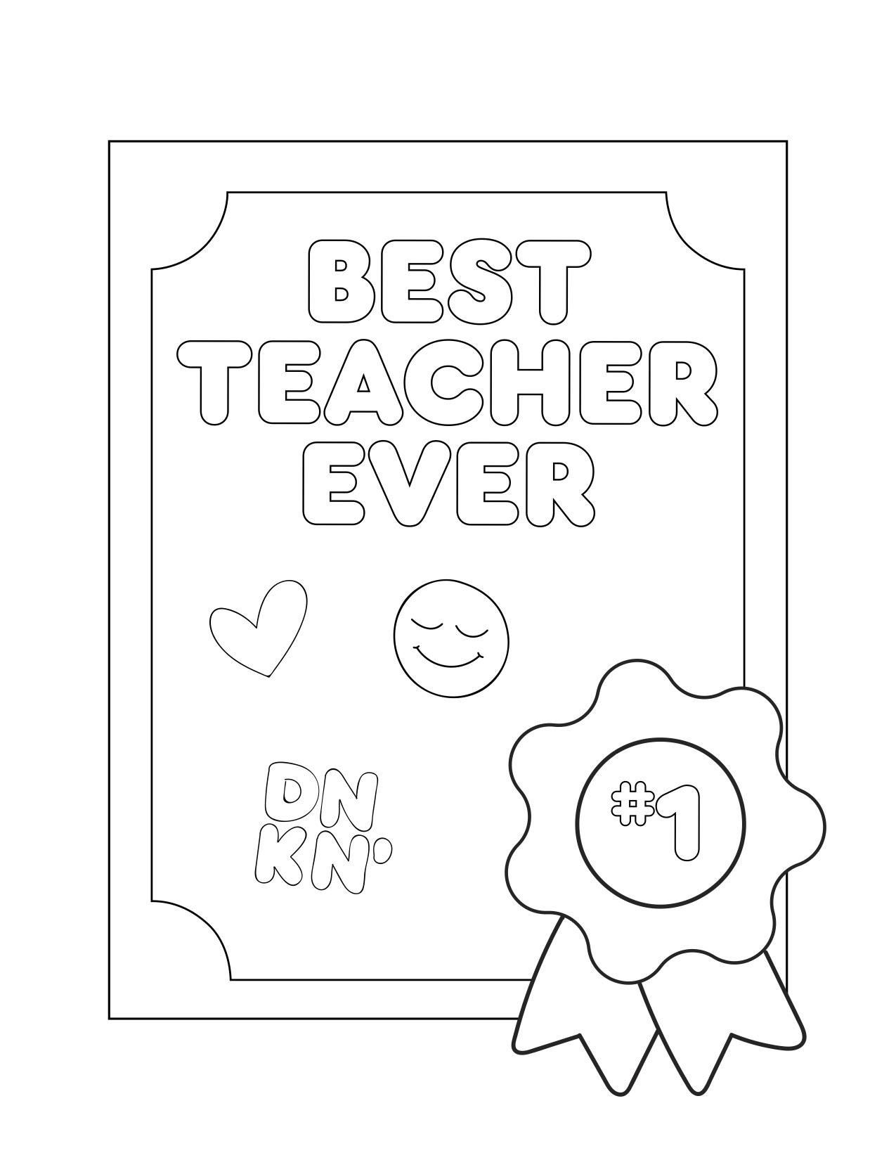Dunkin' Teachers 6