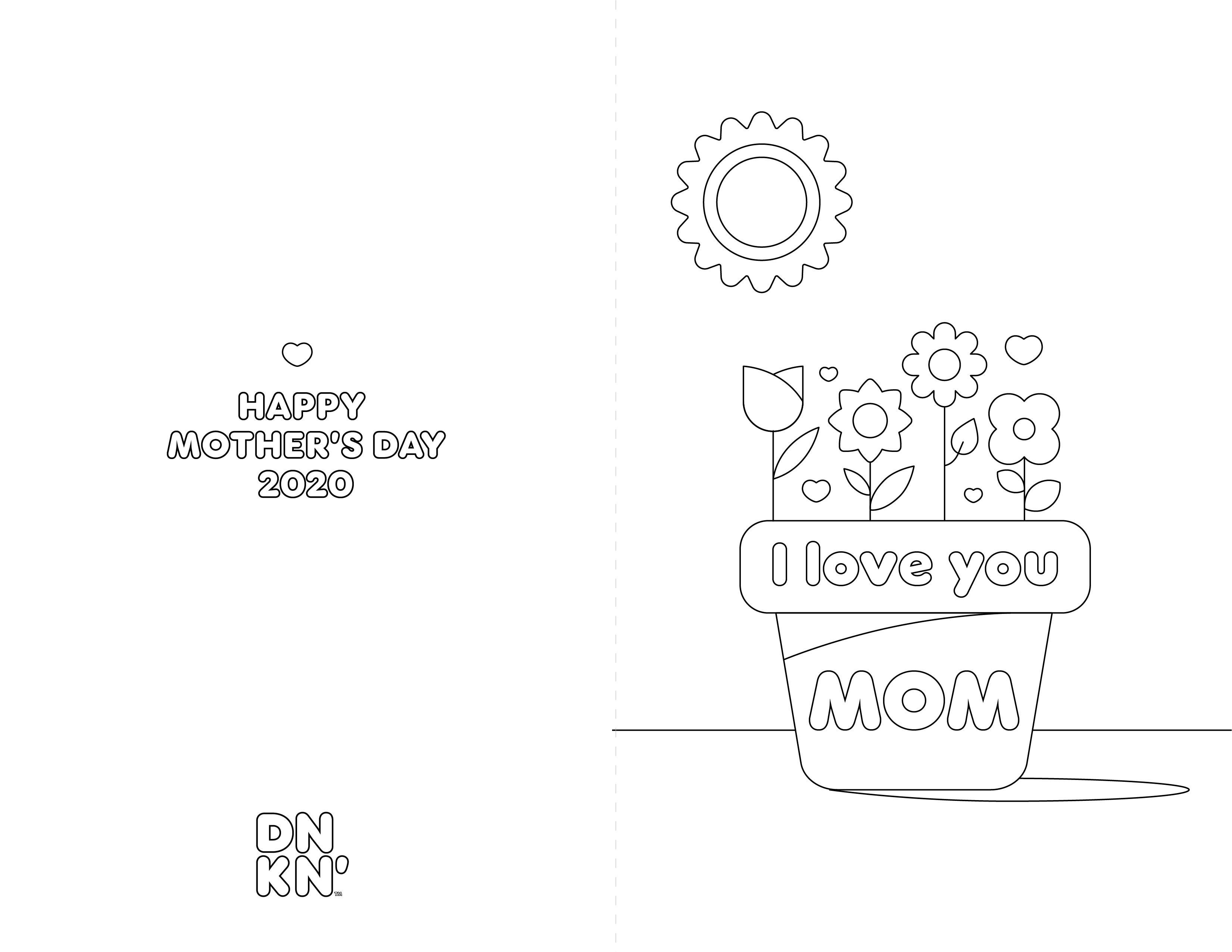 Dunkin-Love-You-Planter-Card