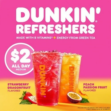 Dunkin' Refreshers 2