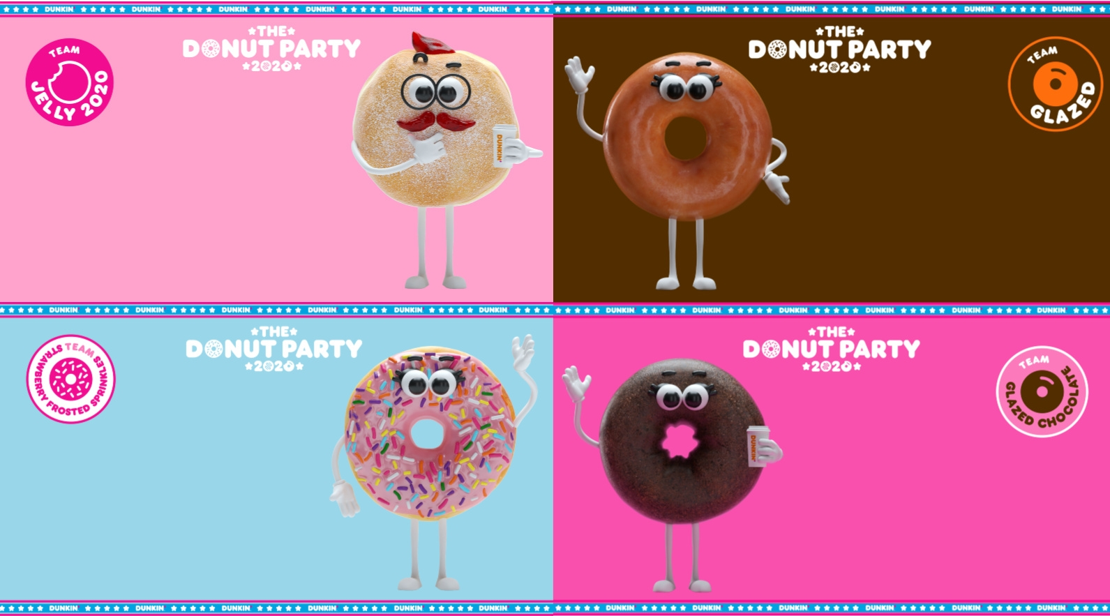 7 Dunkin' Backgrounds to Help You Celebrate National Donut Day Virtually