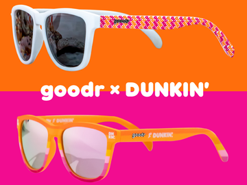 Summer in Style with New Dunkin' Inspired goodr Sunglasses