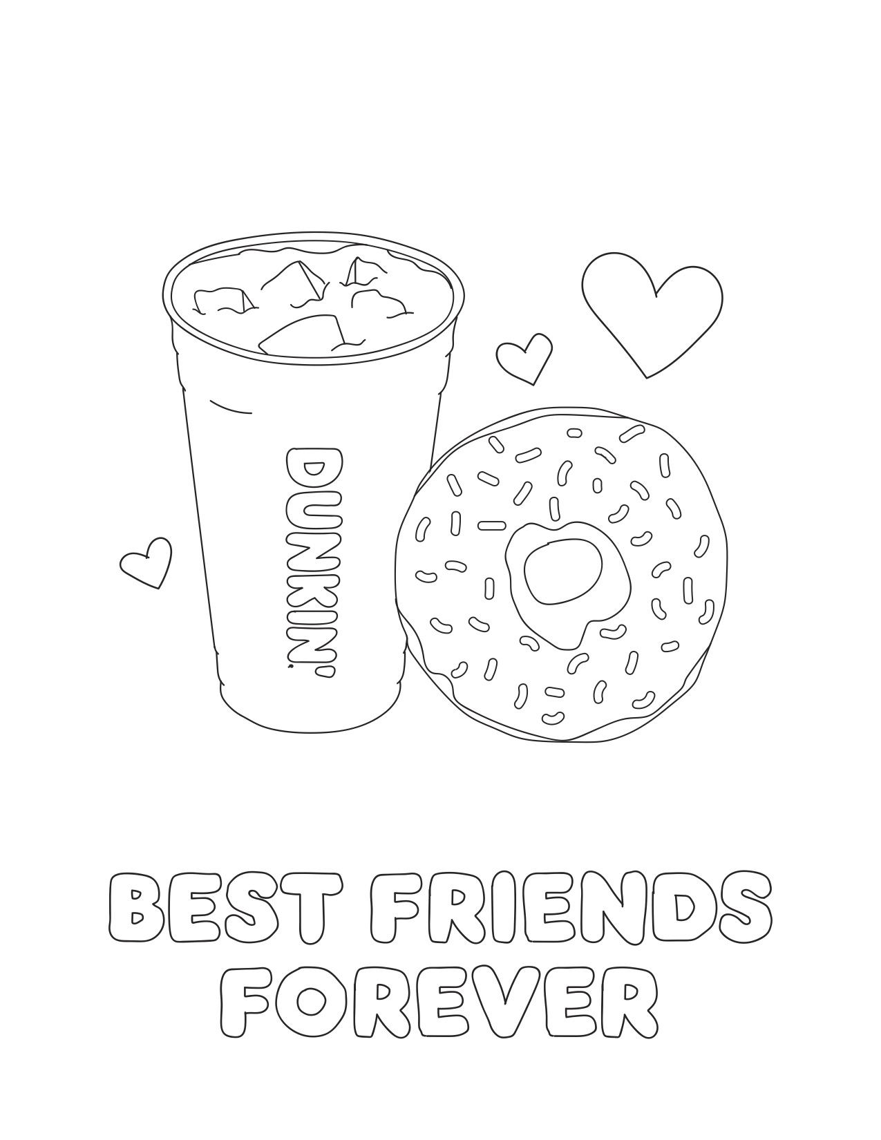 Treat Your Bff This National Best Friend Day Dunkin