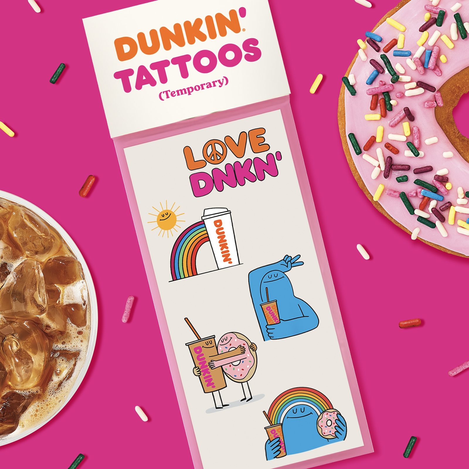 Celebrate National Tattoo Day with Some Sweet, Temporary Ink from Dunkin'