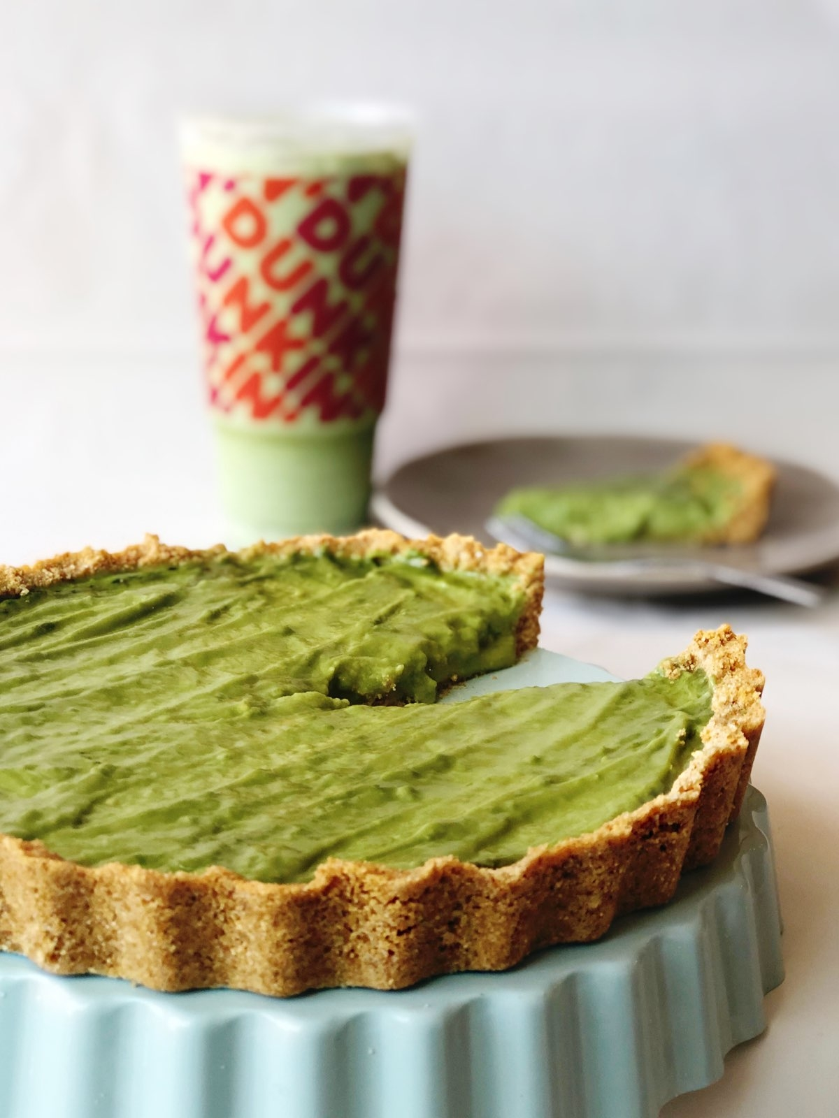 Enjoy a Slice of Summer with this Matcha Latte Summer Pie Recipe