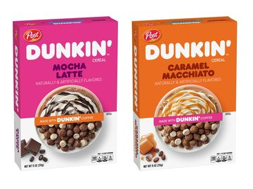America Runs on Dunkin': Post Cereals and Dunkin' Team Up to Bring America's Favorite Coffee to a Cereal Aisle Near You