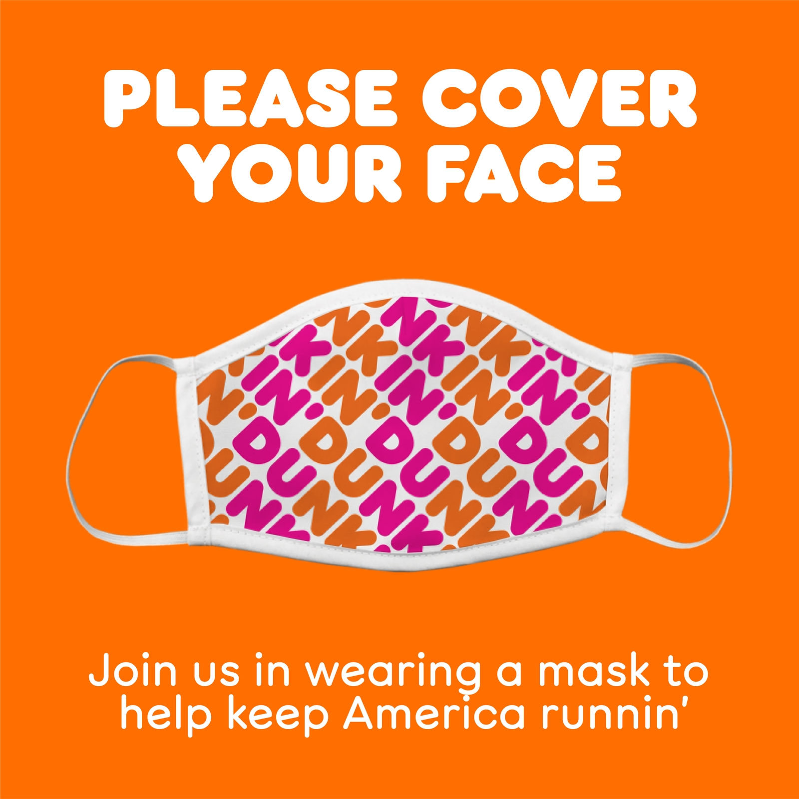 Dunkin' Announces Update on Face Coverings