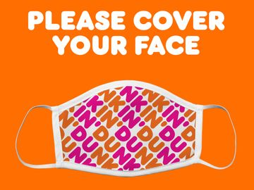 Dunkin' Face Covering Requirement