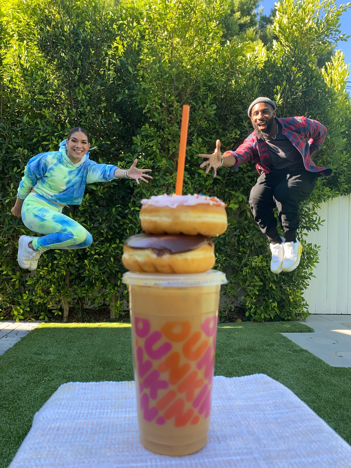 tWitch Boss and Allison Holker Encourage DD Perks® Members to Perk Up Their Week