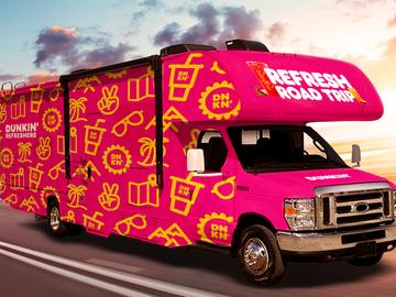 Dunkin' Refreshers RV