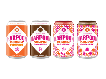 The Story Behind Harpoon and Dunkin's New Fall Beers