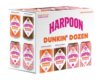 Harpoon Dunkin' Dozen 12-Pack