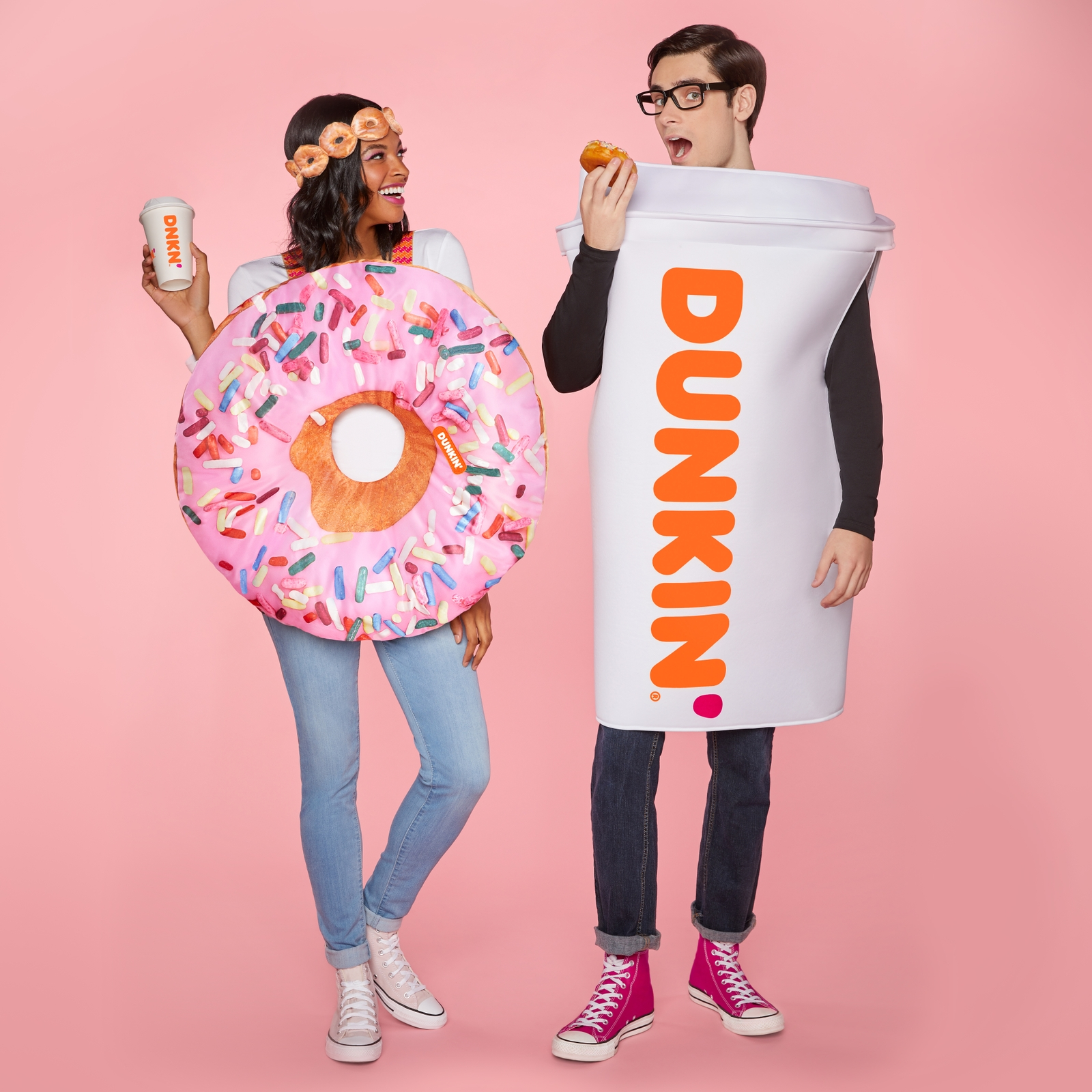 Brewing a Hot Look for Halloween:  Dunkin' and Spirit Halloween Team Up to Launch Two Dunkin' Costumes