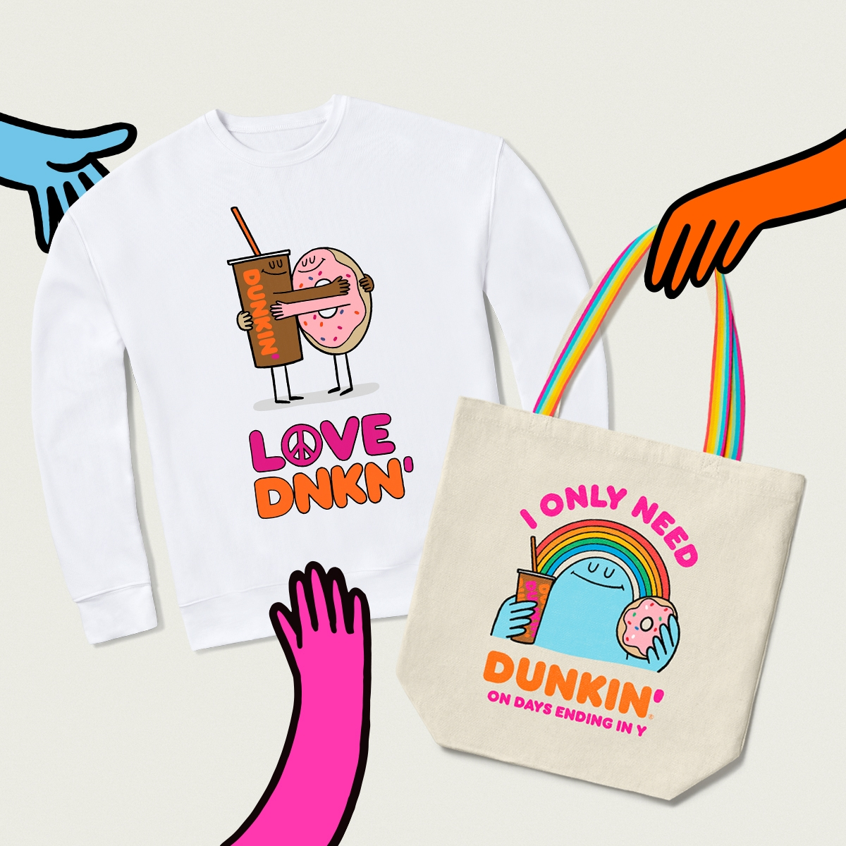 Sport Your Dunkin' Devotion with National Dunkin' Day Merch