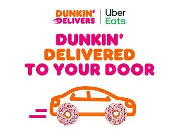 Score a Half-Dozen Donuts from Dunkin' with Uber Eats