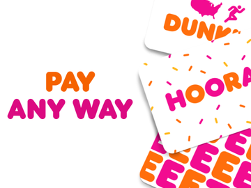 DD Perks® Members Can Pay Any Way to Earn Points Toward a Free Beverage Reward