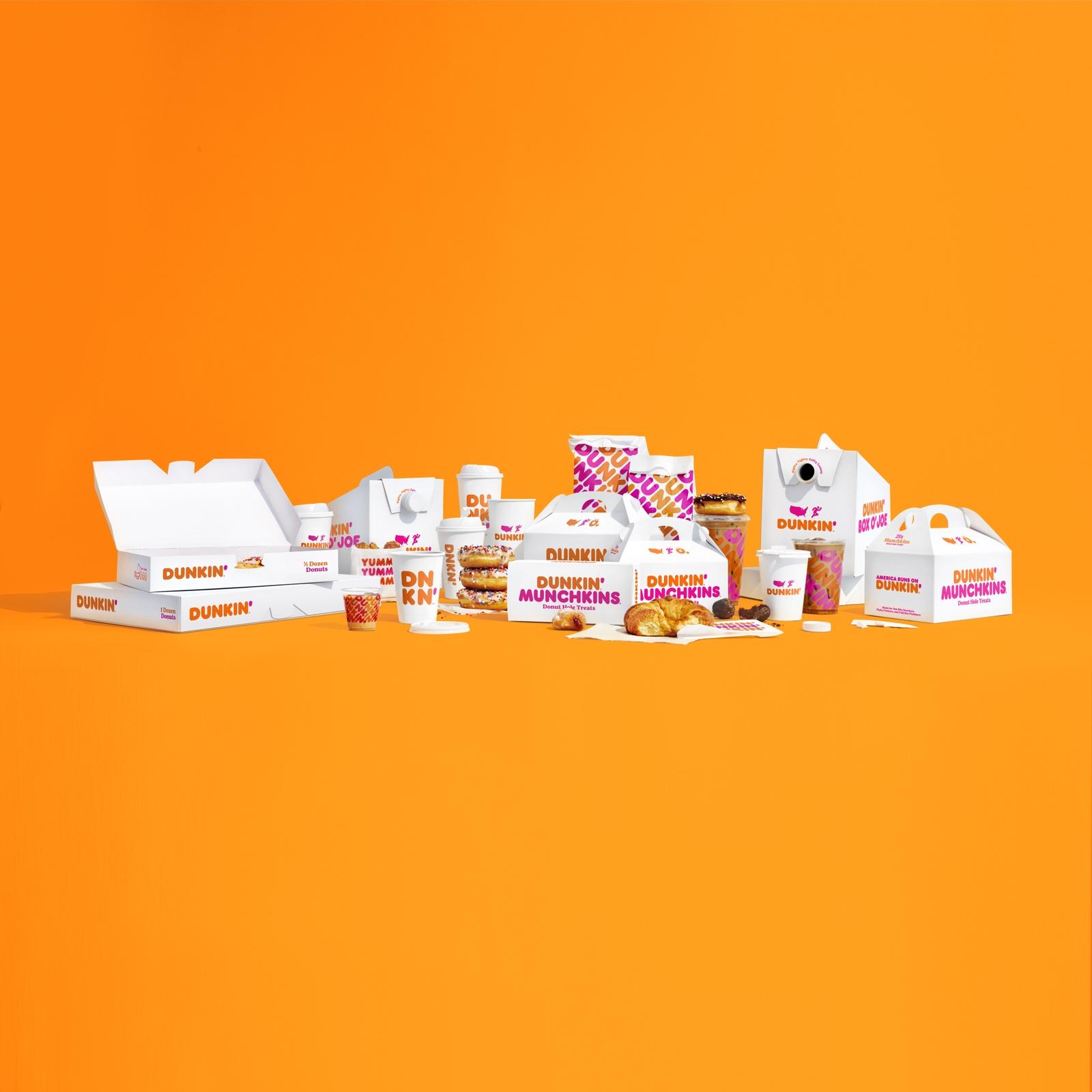 Dunkin' Packaging