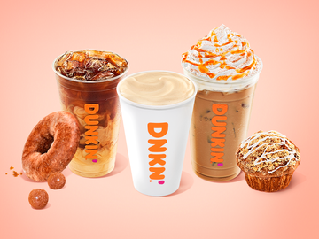 Five Dunkin' Drinks to Keep You Running This Fall