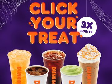No Tricks, Just Treats! Click Your Halloween Treat from Dunkin'