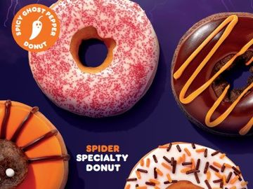 How to Celebrate Halloween with Dunkin'