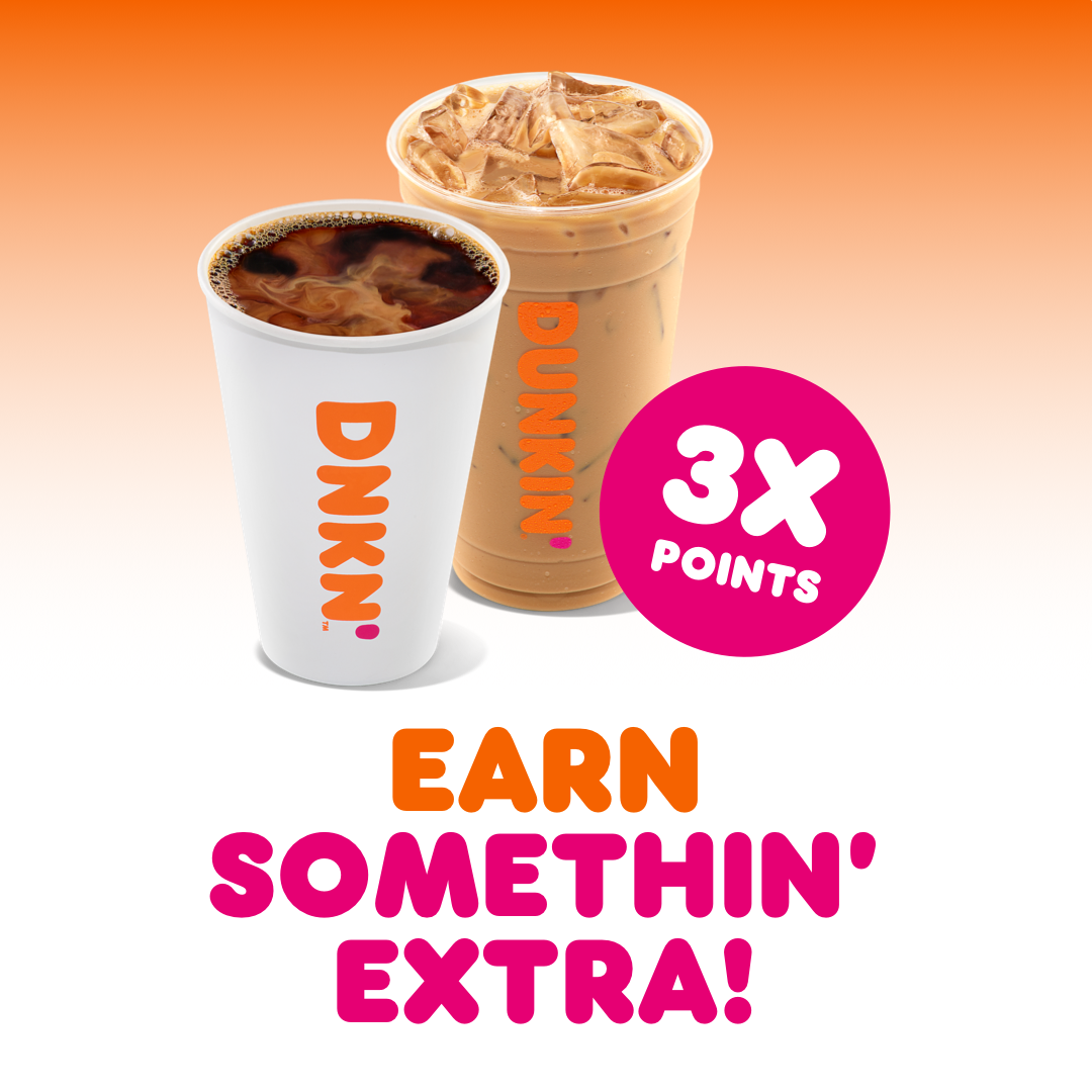 Dunkin' Gives Fans a Little Something Extra