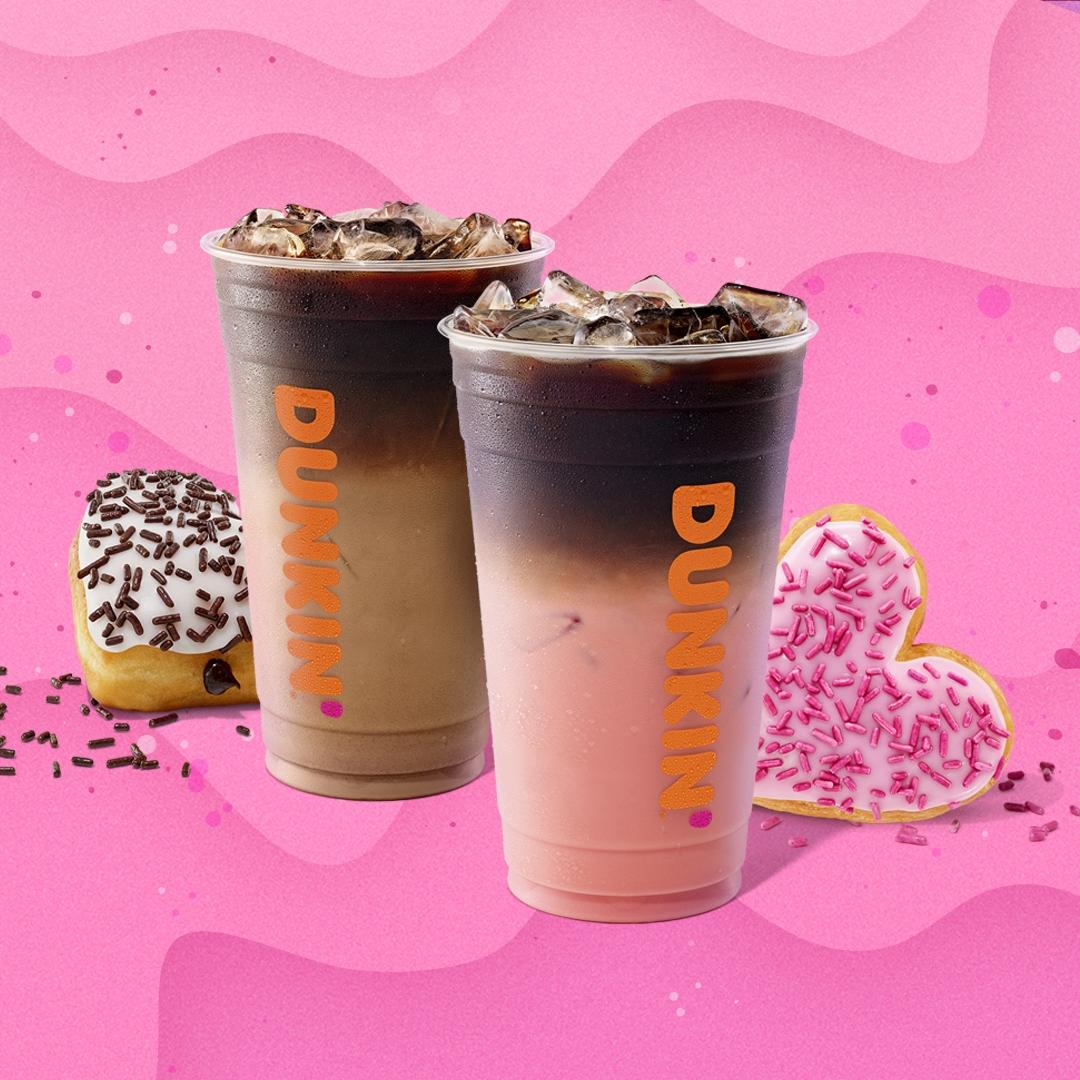 The Story Behind Dunkin's Valentine's Day Macchiatos