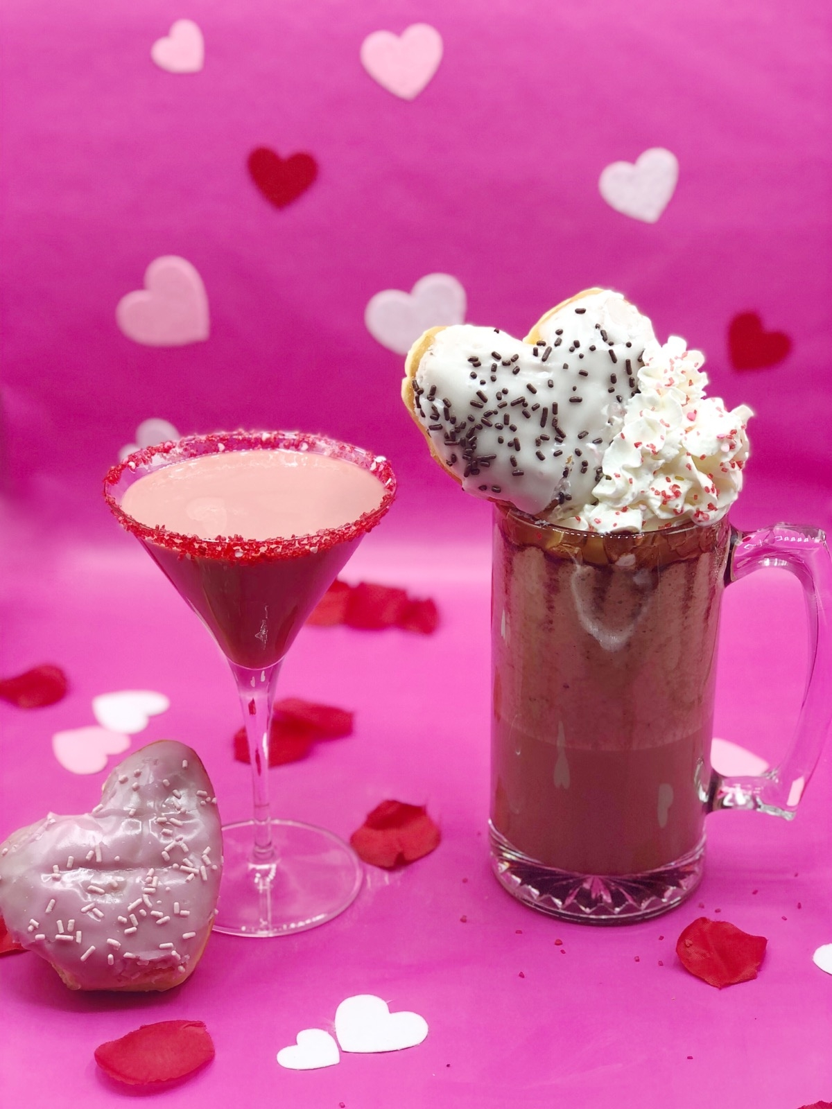 Celebrate Valentine's Day with Two Sweet Dunkin' Cocktail Recipes