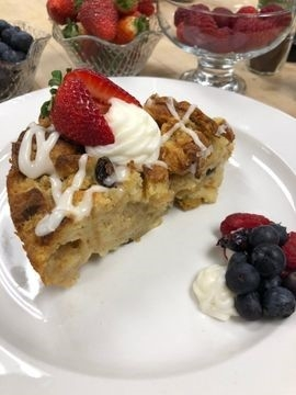 Celebrate National Croissant Day with a Croissant Bread Pudding Recipe