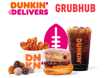 Kick Off Your Weekend with a Dunkin' Delivery Deal