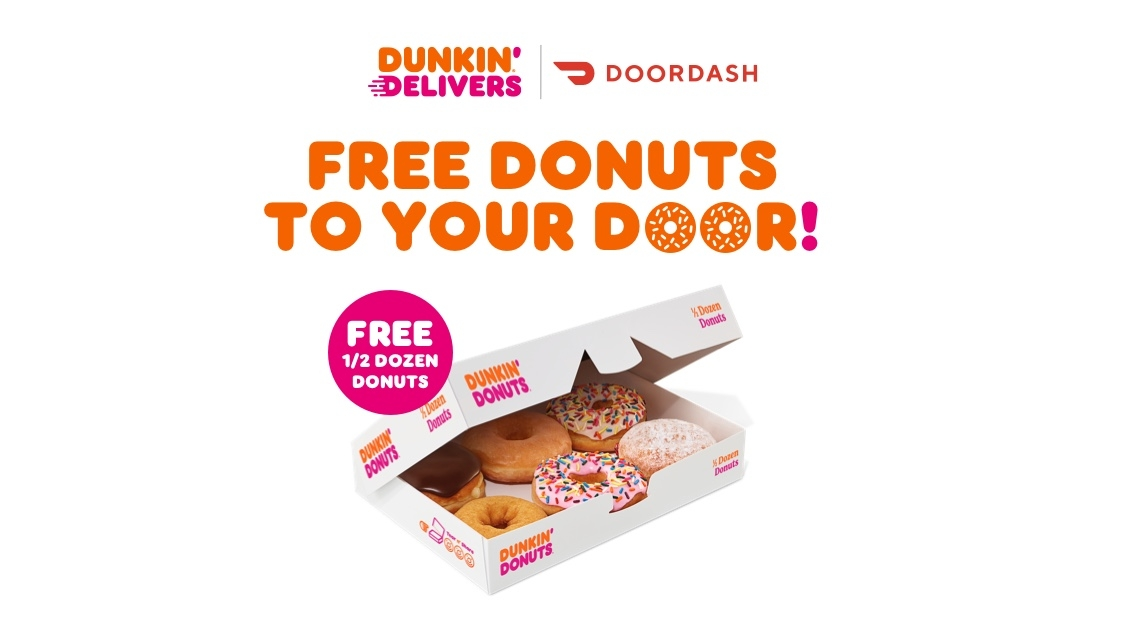 Get Free Donuts to Your Door This Weekend
