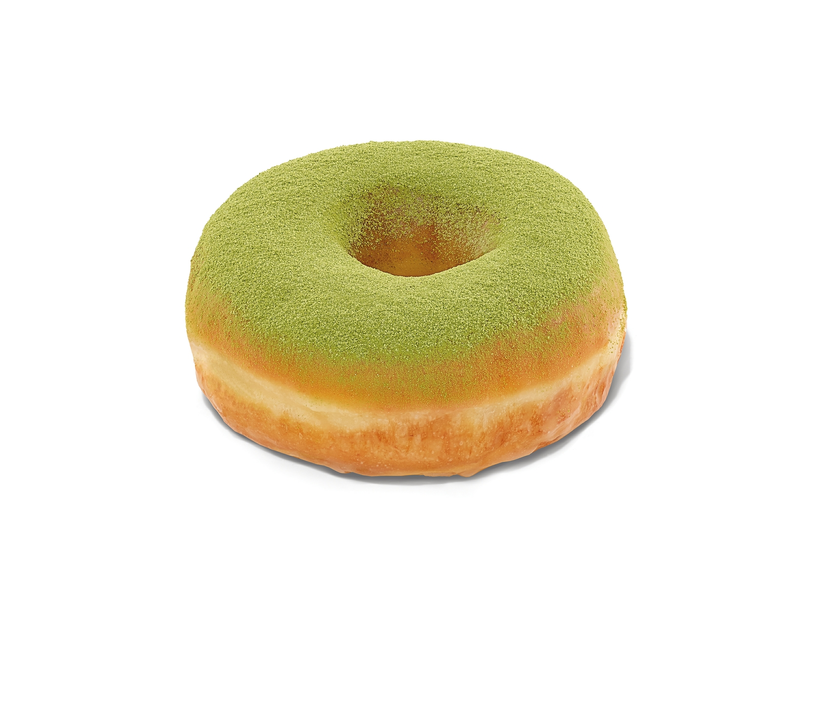 Matcha Topped Donut
