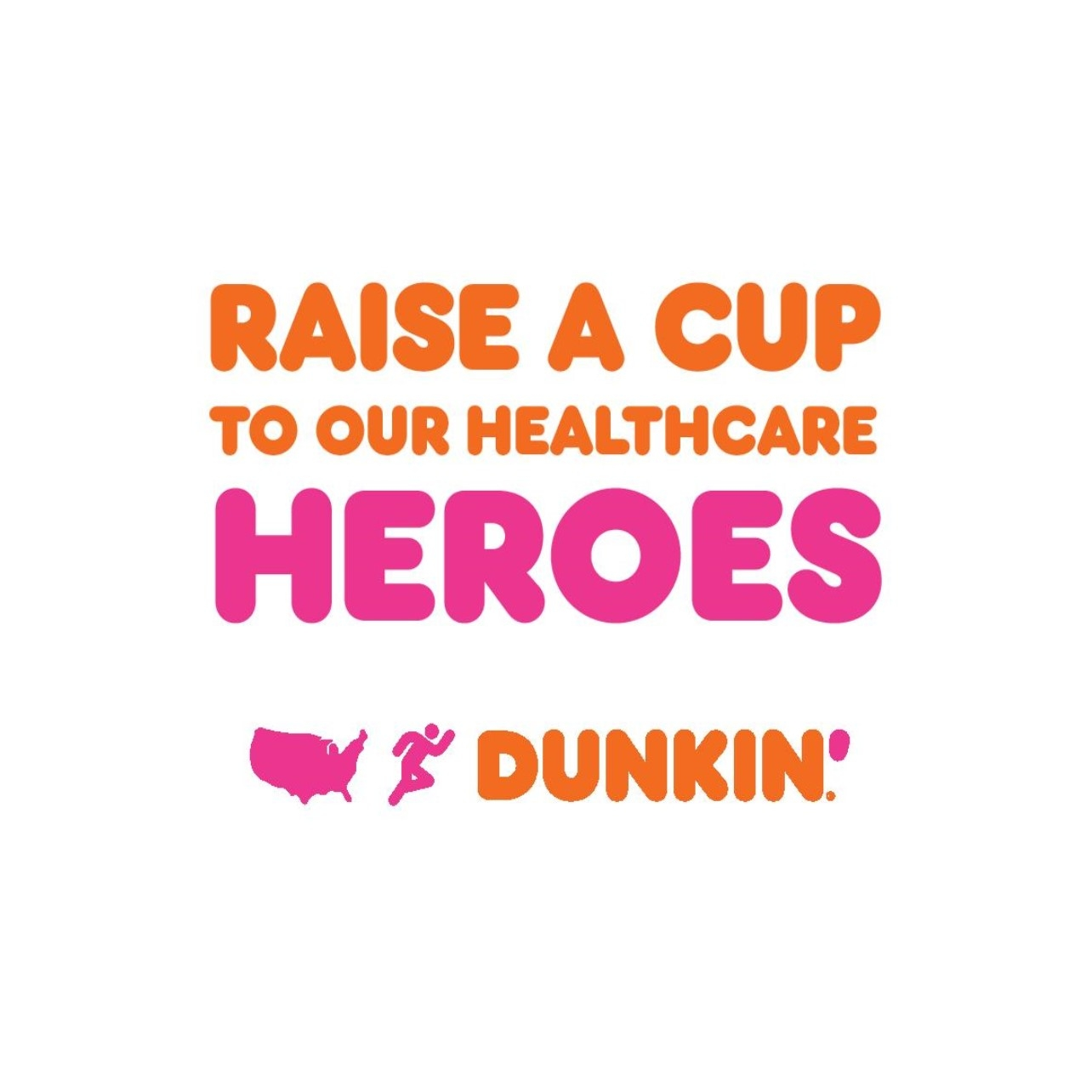 Keeping America Runnin': Dunkin' Raises a Cup to Healthcare Heroes at Vaccination Sites