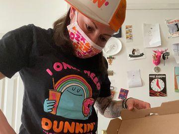 Meet the Dunkin' Pizza Queen, Miriam Weiskind