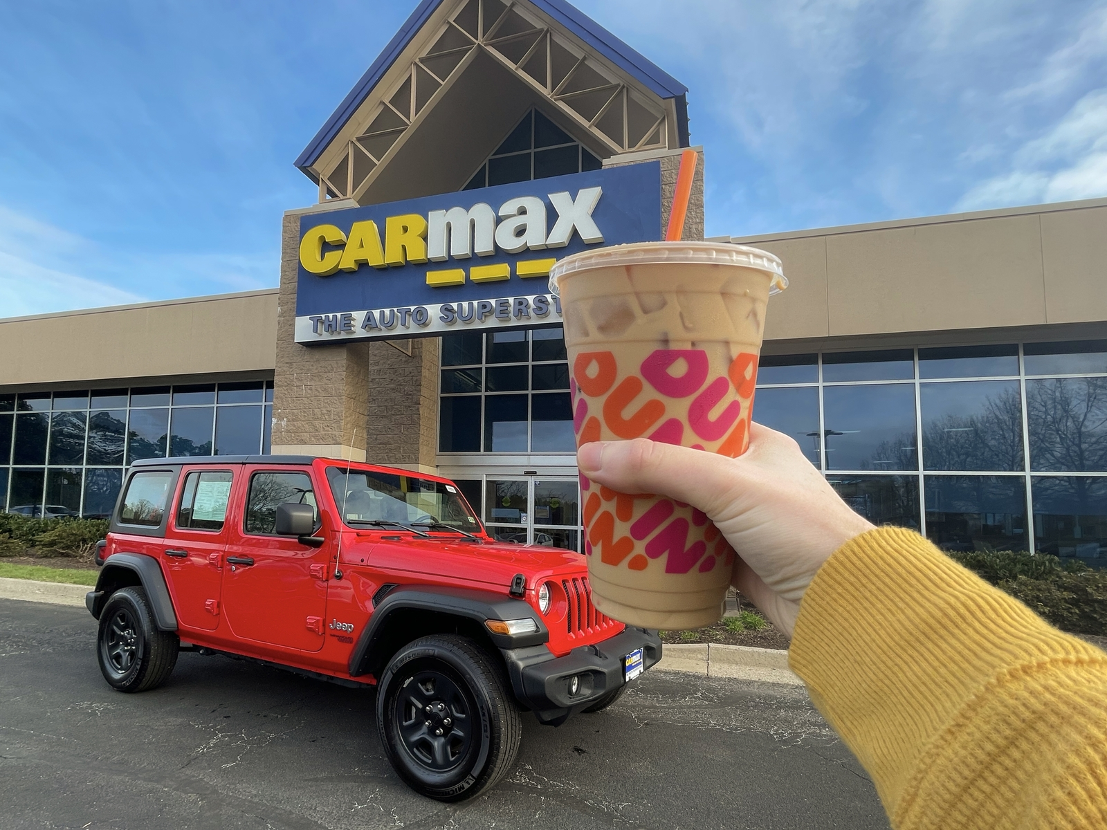 """CarMax and Dunkin' are """"Doin' Donuts"""" for New 24-Hour Test Drive Experience"""