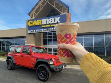 "CarMax and Dunkin' are ""Doin' Donuts"" for New 24-Hour Test Drive Experience"