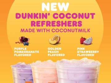 Dunkin' Coconut Refreshers