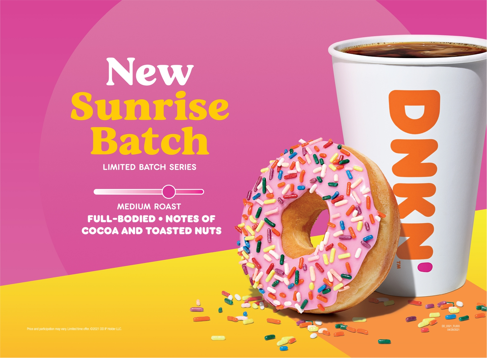 The Story Behind Dunkin's Sunrise Batch Coffee