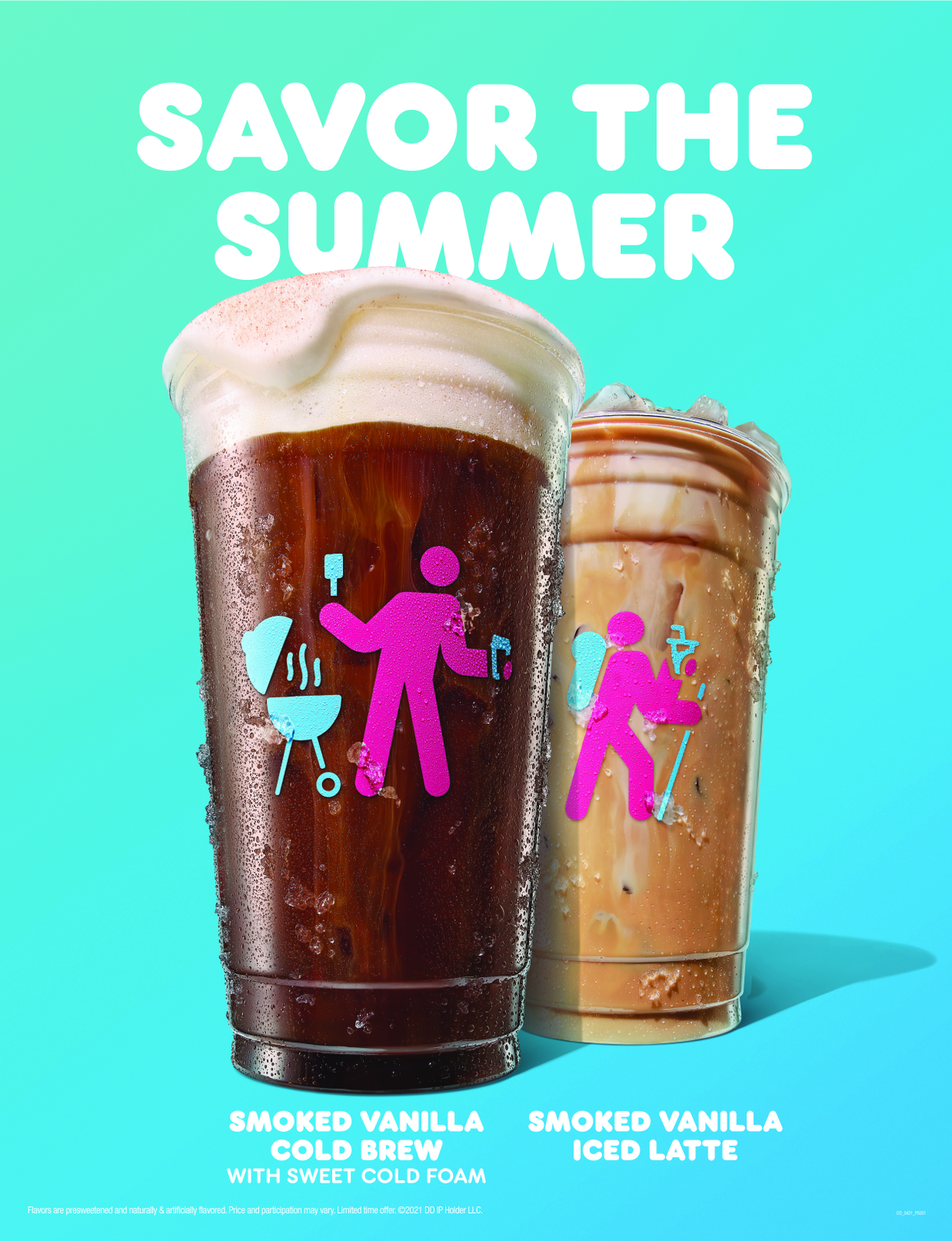 Keep Chillin' All Summer with Dunkin's Cool New Brews