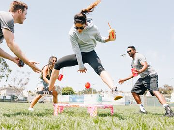 America Spikes on Dunkin': Dunkin' and Spikeball Serve Up a Limited-Edition Branded Kit