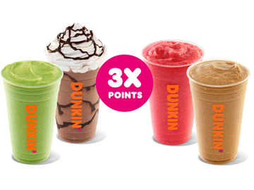 Cool Off This Summer With 3X Points on Frozen Beverages