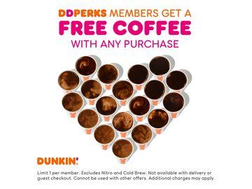 Dunkin' DD Perks Offer