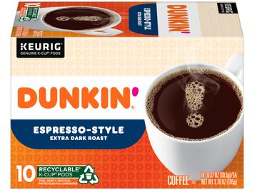 Dunkin' Introduces New Espresso-Style Extra Dark Roast Coffee